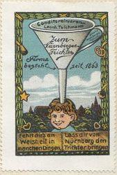220px-Nuremberg_Funnel_-_ad_stamp_1910