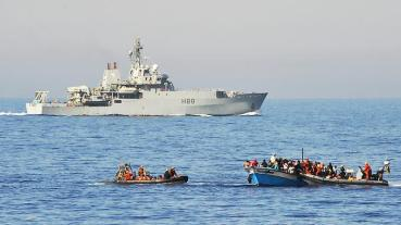 Schleuser Boote Rettung