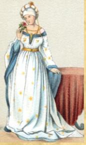 Mittelalterliche Frau 1