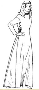 Mittelalterliche Frau 2
