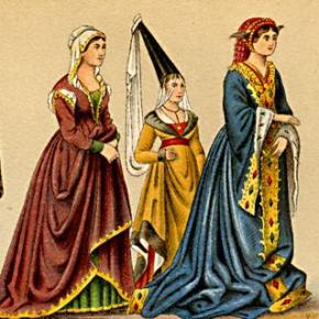 Mittelalterliche Frau 3