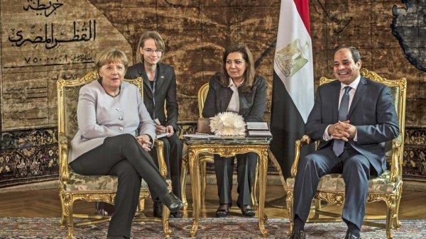 Merkel Ägypten