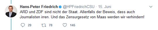 friedrichs twitter