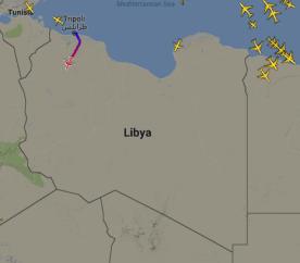 Flugverkehr Libyen
