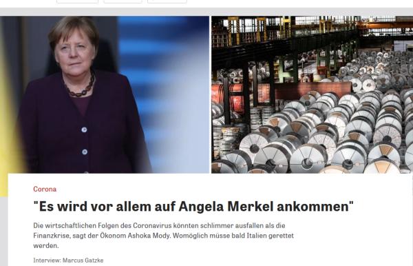 20200318 Zeit Merkel